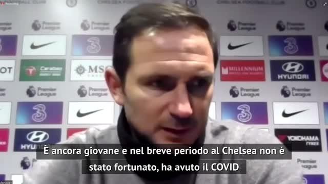 """Lampard: """"Con Havertz ci vuole pazienza"""""""