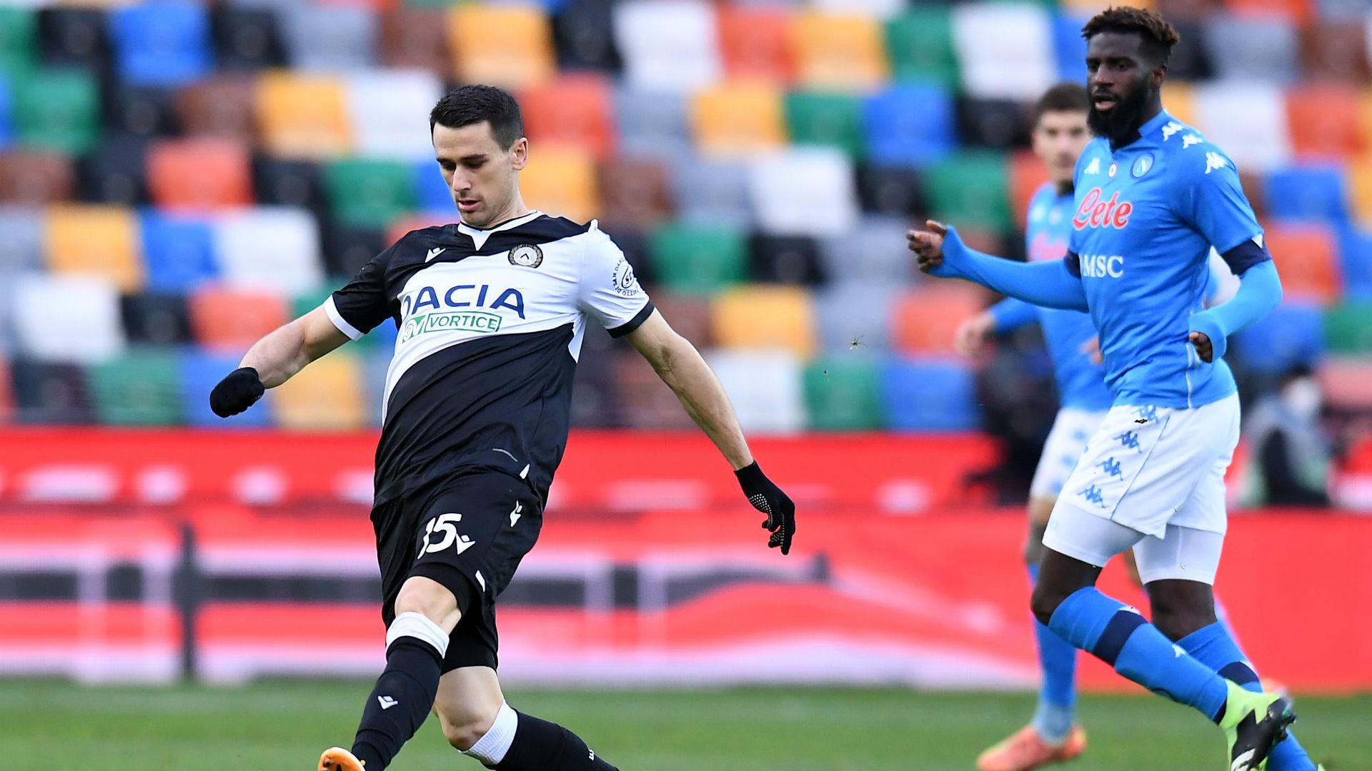 Udinese-Napoli 1-2: Bakayoko al 90′, gli azzurri si rialzano