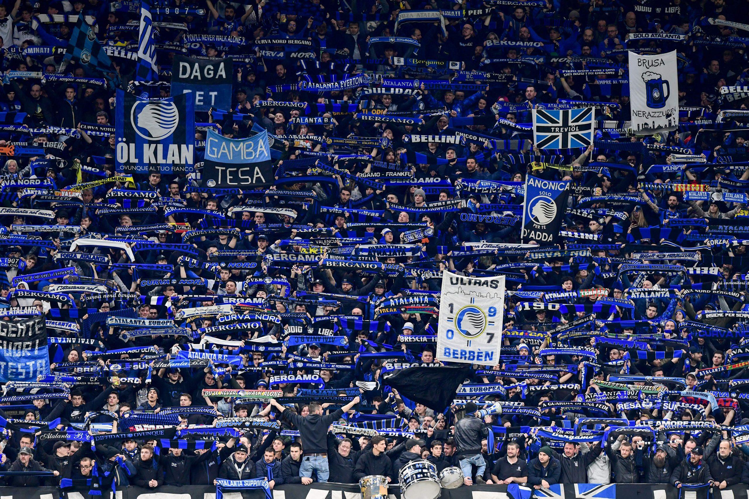 Atalanta-Real Madrid, appello nel vuoto: tanti tifosi fuori dallo stadio