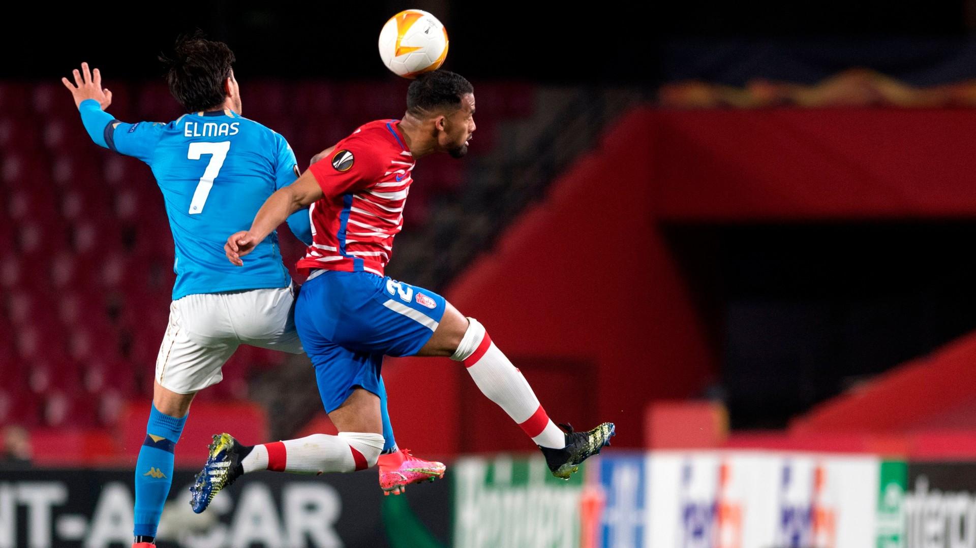 Napoli-Granada, le formazioni ufficiali: Elmas a sinistra nel 3-4-1-2