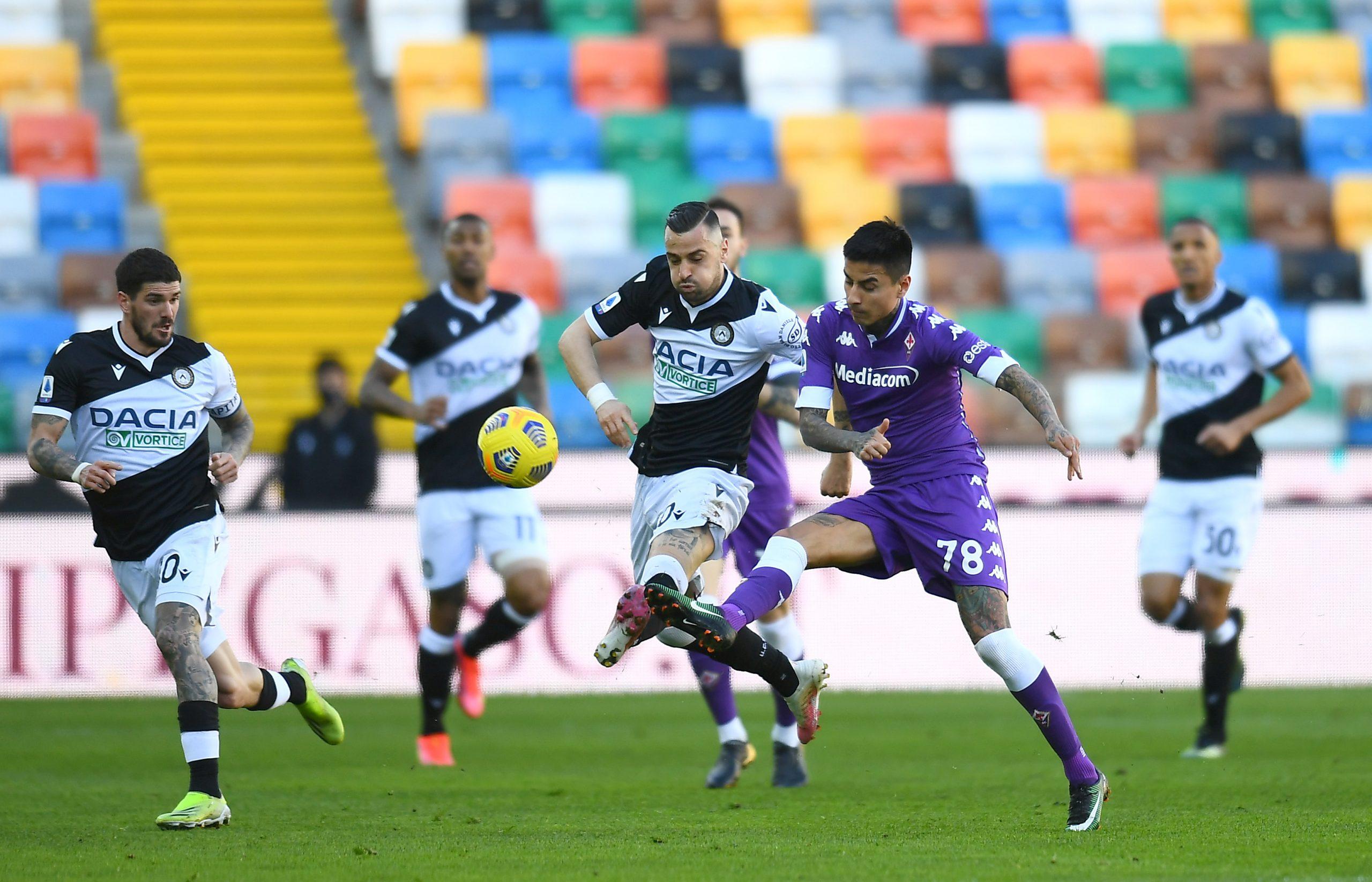 Udinese-Fiorentina 1-0: basta un guizzo di Nestorovski, i viola tornano a tremare