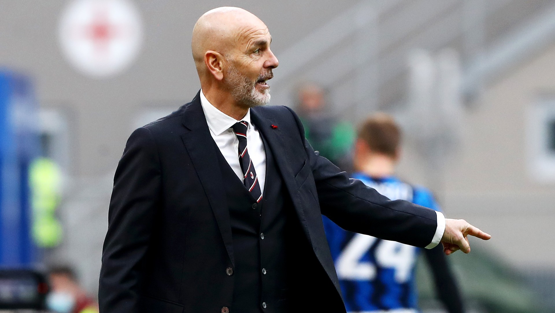 """Roma-Milan, Pioli chiaro: """"Match che vale più di tre punti"""""""