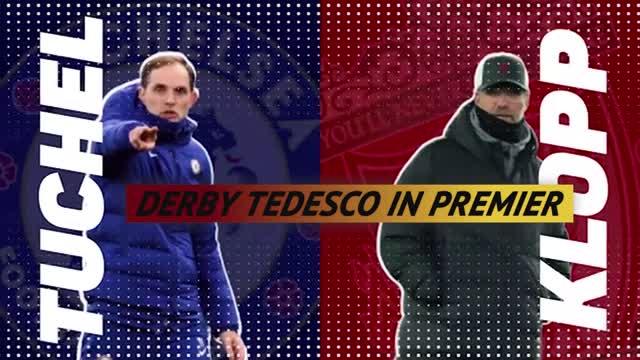 Klopp contro Tuchel, derby tedesco in Liverpool-Chelsea