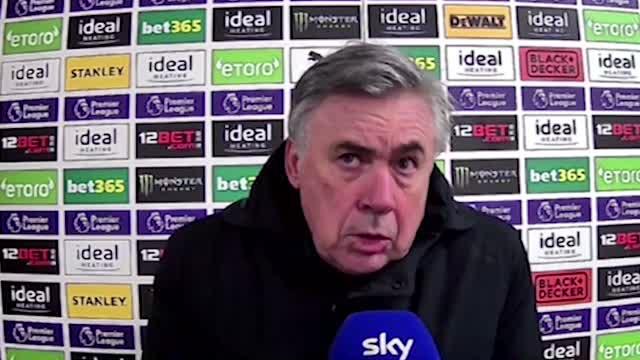 """L'Everton non si ferma, Ancelotti: """"La pressione aumenta"""""""