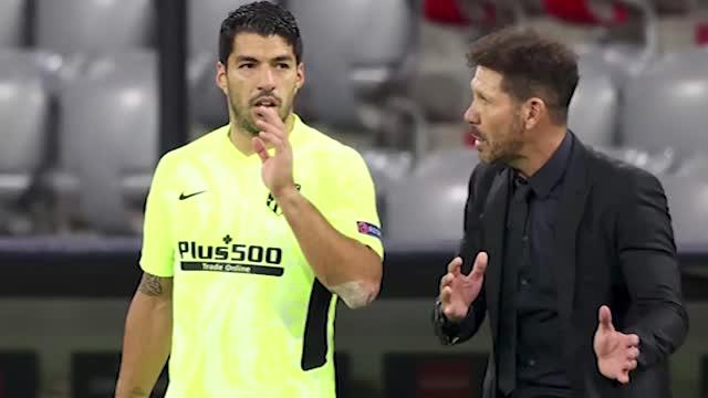 Atletico, Luis Suarez sfida il Real Madrid