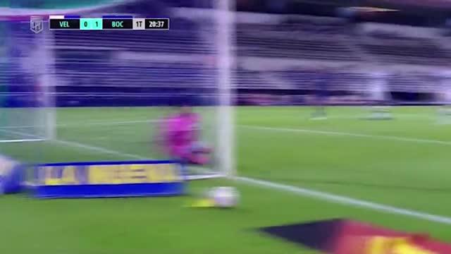 Tevez trascina il Boca, 7-1 al Velez
