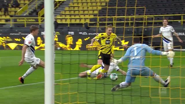 Borussia Dortmund-Arminia Bielefeld 3-0, ci pensa Sancho