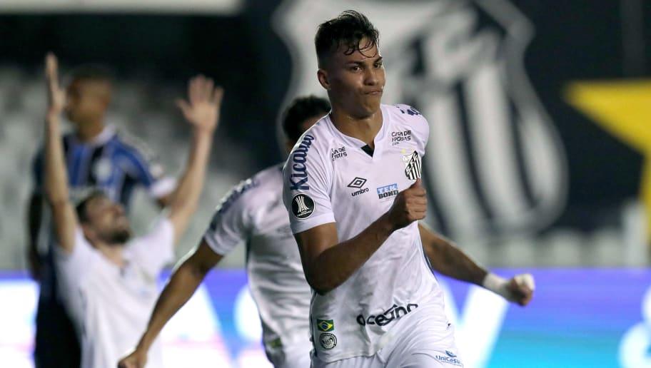 Kaio Jorge via dal Santos gratis? Inter e Juventus alla finestra: la situazione