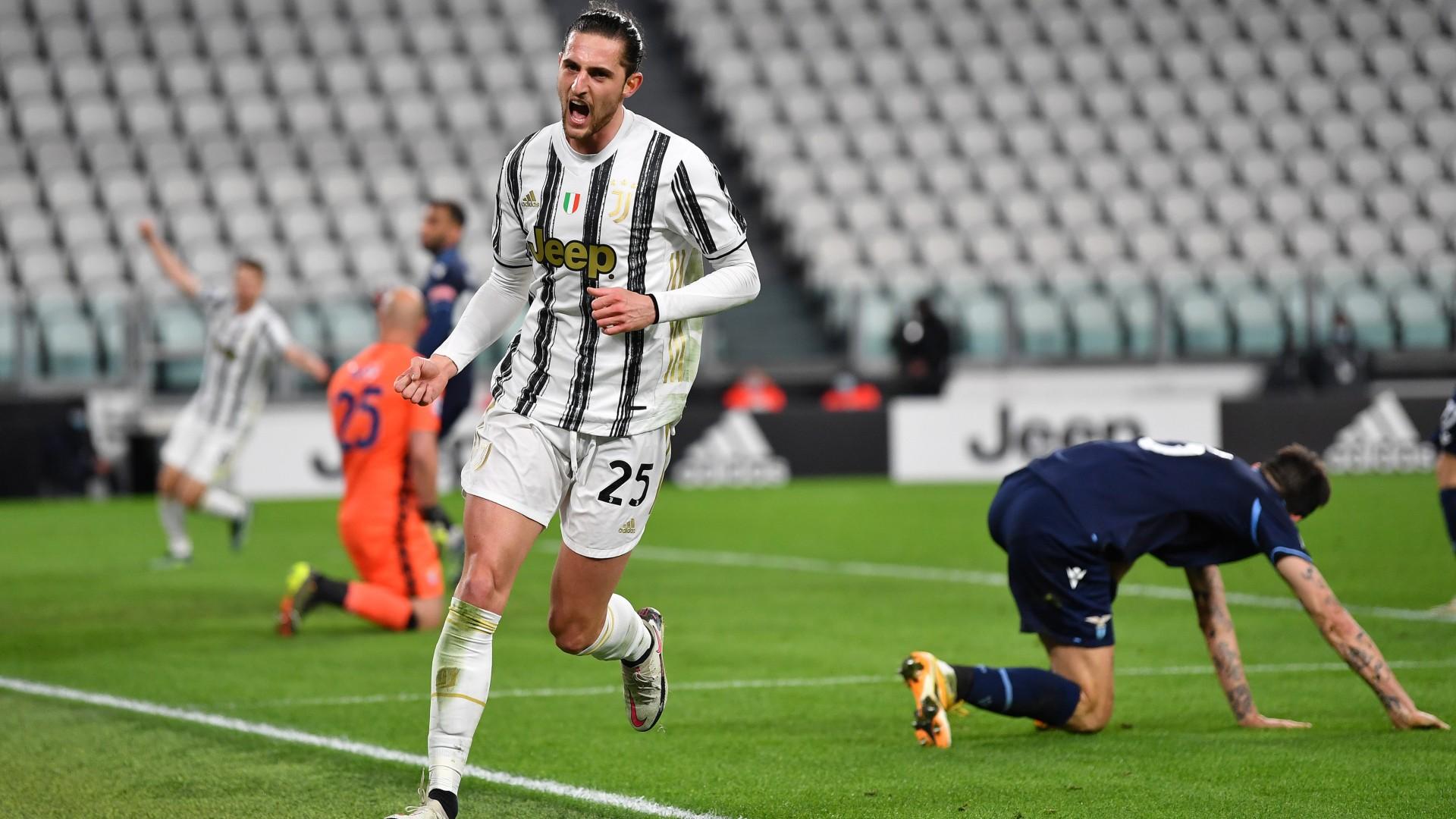Juventus-Lazio 3-1: Rabiot e doppio Morata, rimonta bianconera