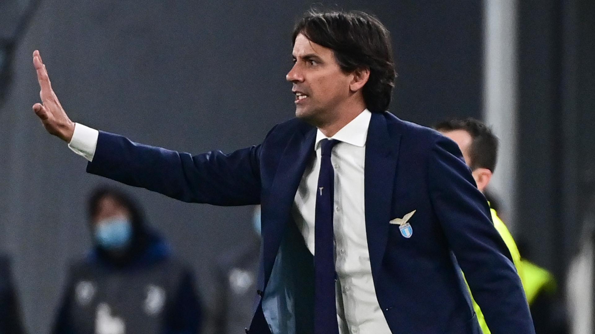 """Juve-Lazio, Inzaghi rammaricato: """"Abbiamo comandato per larghi tratti"""""""
