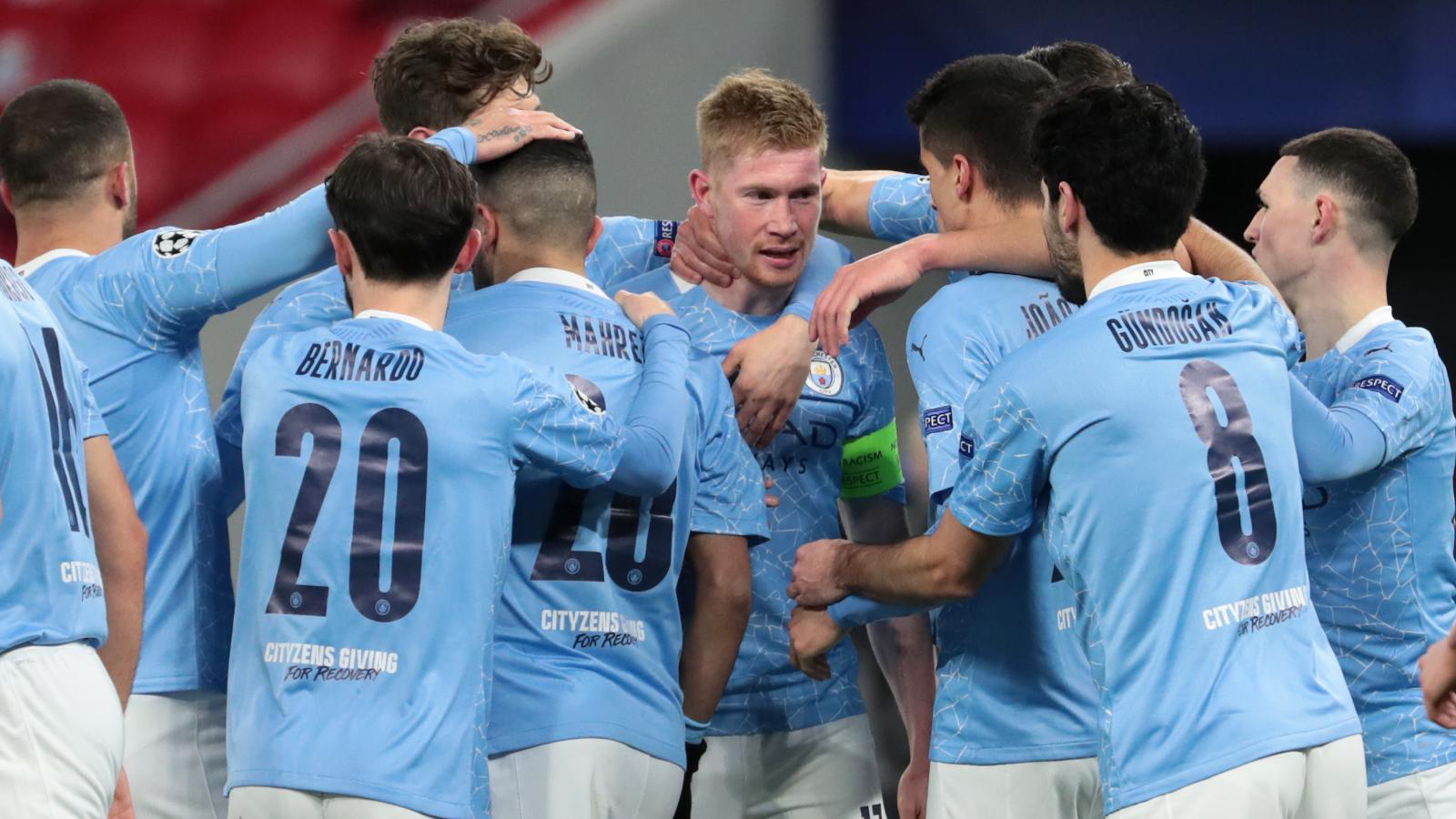 Manchester City-Borussia Monchengladbach 2-0: Guardiola vola ai quarti di Champions