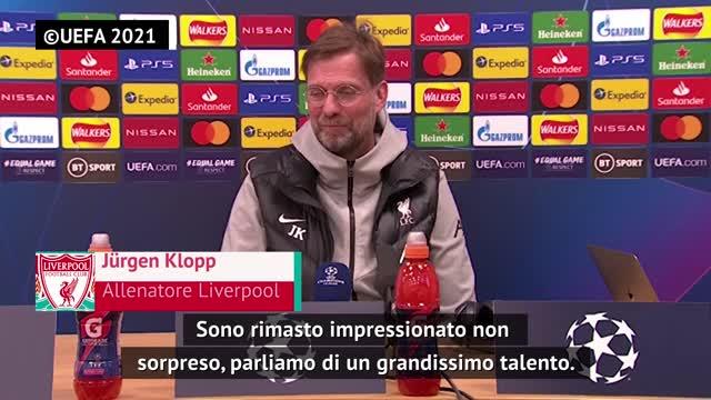 "Klopp: ""Vinicius impressionante, Kroos una garanzia"""