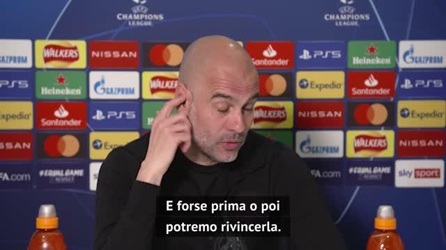 """Pep, che dici?: """"Mai vinta la Champions col Barça…"""""""