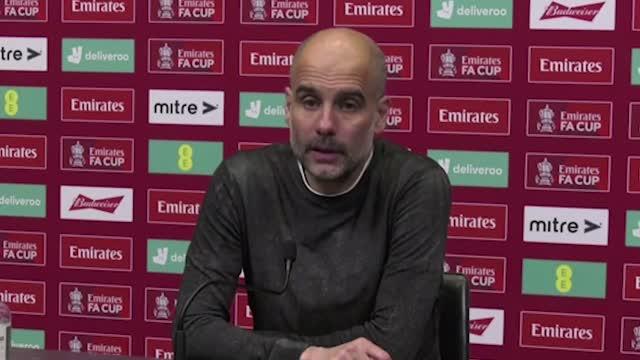 """Guardiola contro il giornalista: """"Non dire che non prendiamo sul serio il torneo…"""""""