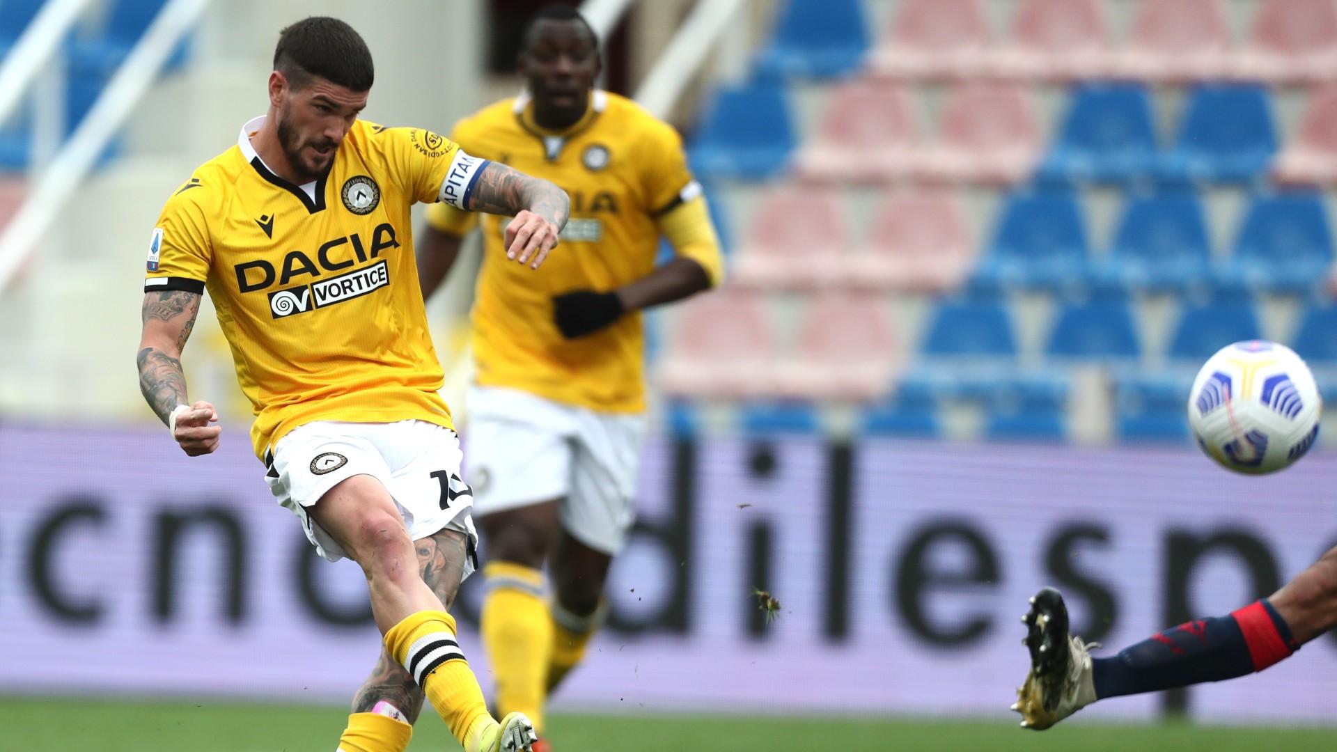 Crotone-Udinese 1-2: fa tutto De Paul, calabresi nell'abisso