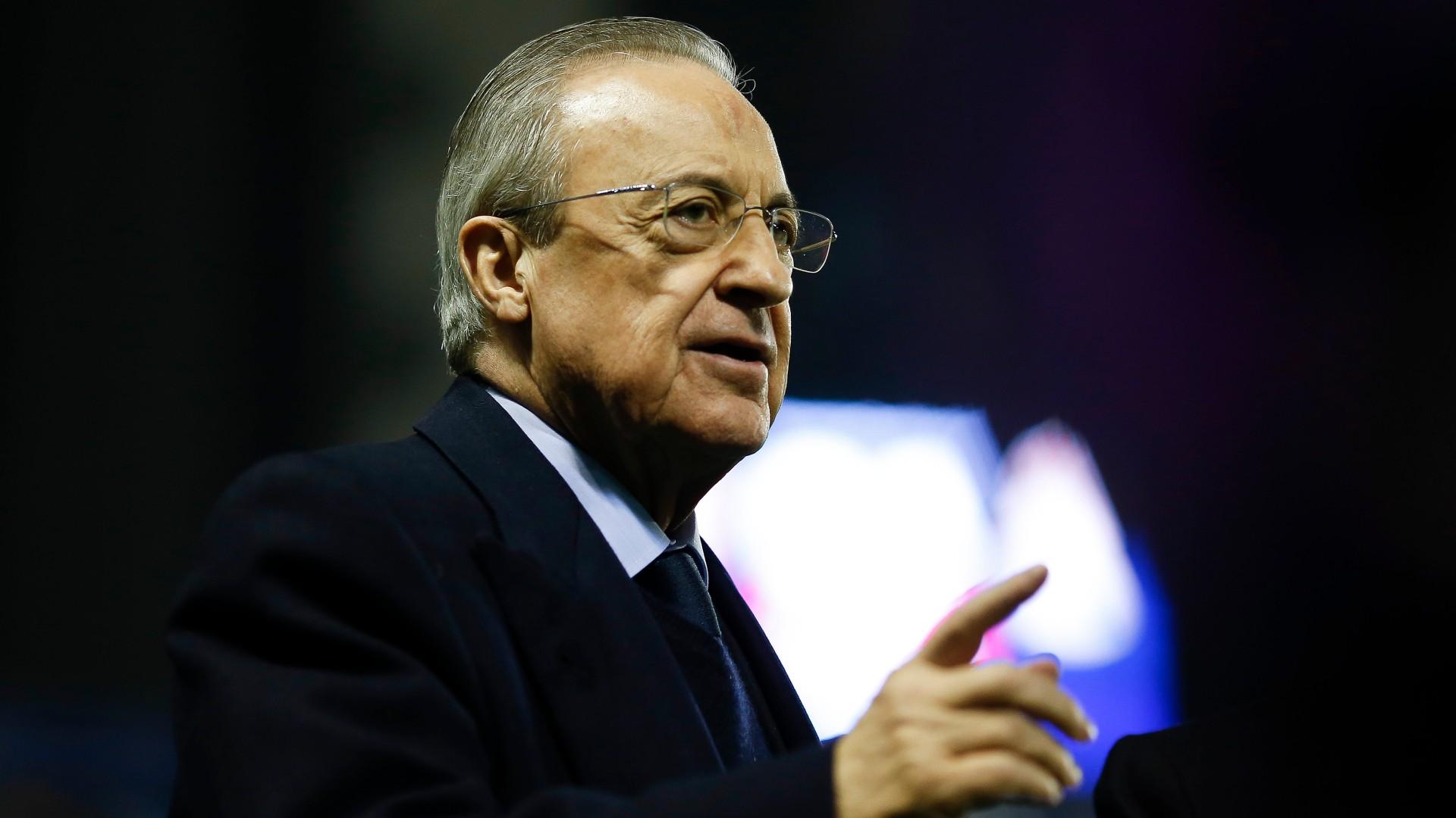 Il Real Madrid avanti con Florentino Perez: è stato rieletto presidente