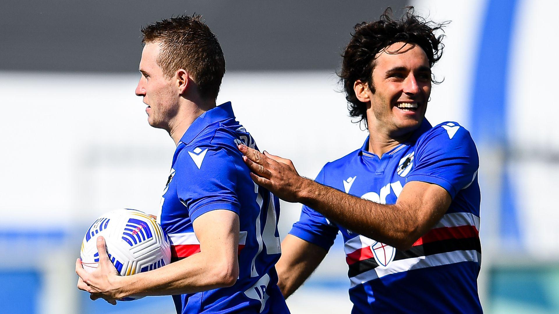Sampdoria-Verona 3-1: rimonta blucerchiata nella ripresa, scaligeri ribaltati