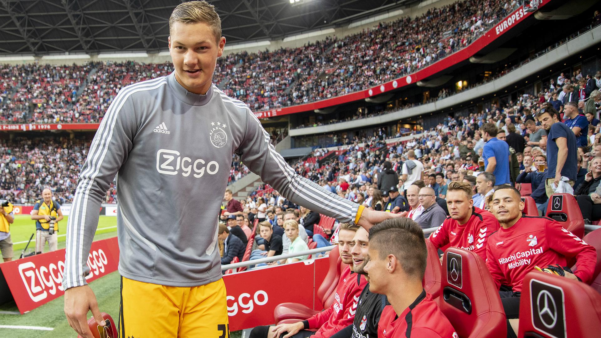 Stekelenburg ko, Ajax-Roma a rischio: debutta il terzo portiere Scherpen?