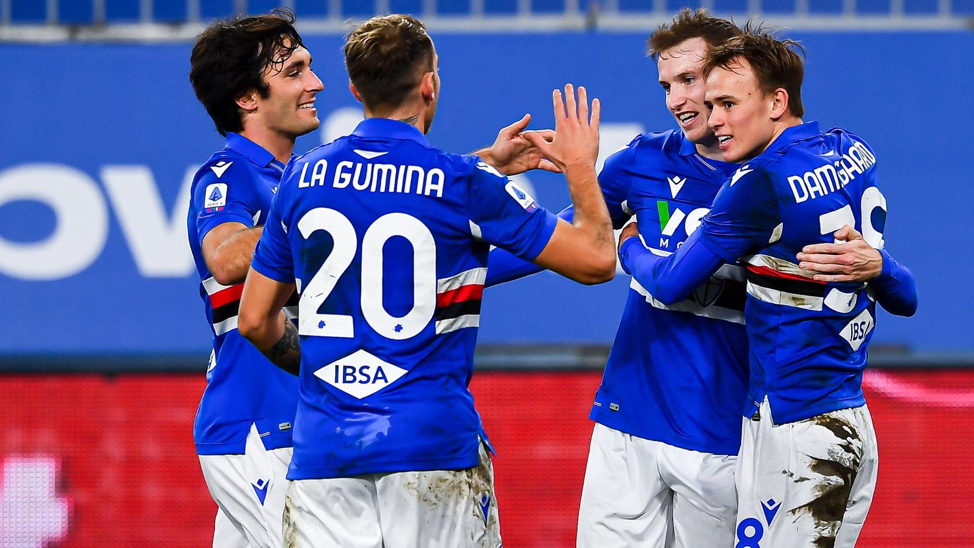 Sampdoria-Verona, le formazioni ufficiali: dentro La Gumina e Salcedo