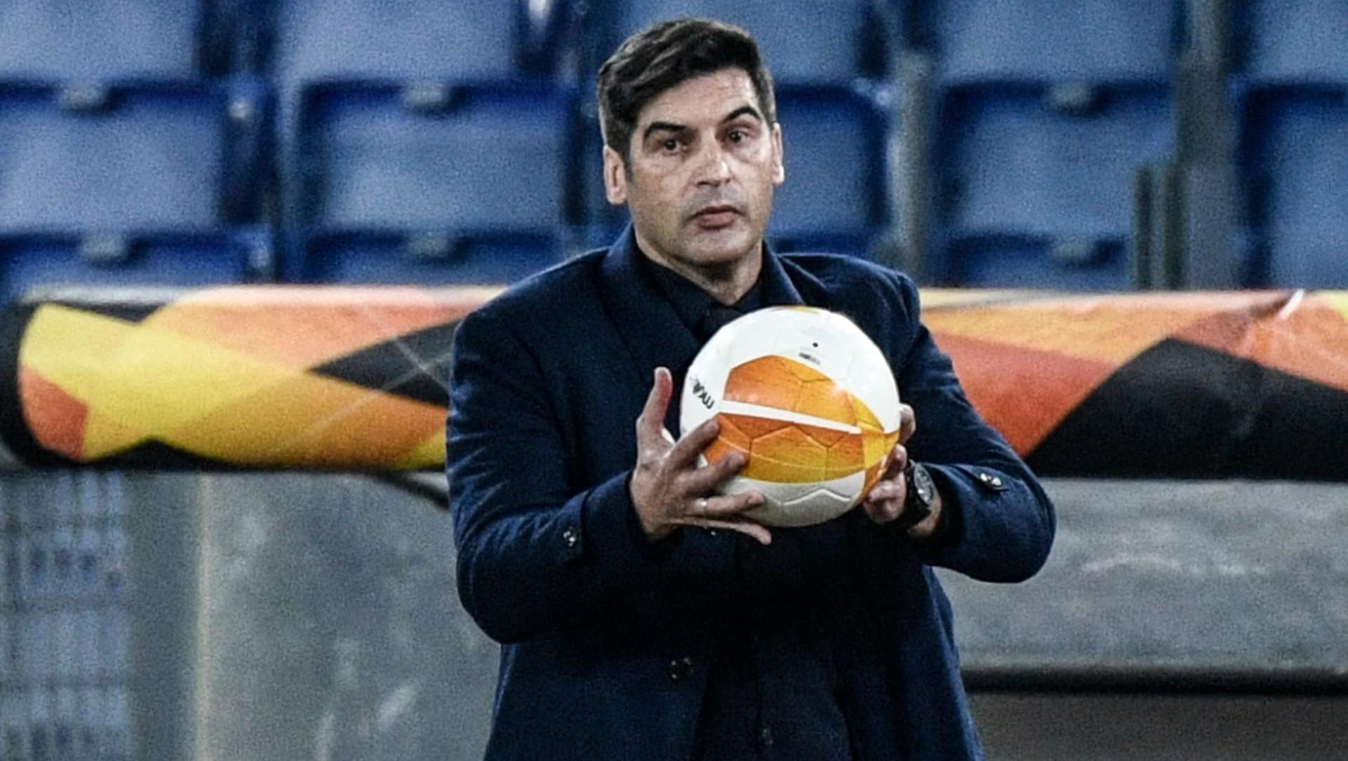 "Ajax-Roma, Fonseca suona la carica: ""Squadra motivata, Dzeko gioca"""