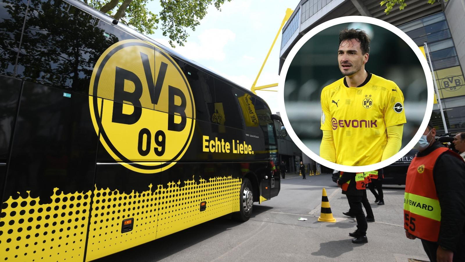 Il Borussia Dortmund 'perde' Hummels: dimenticato dal pullman a Colonia